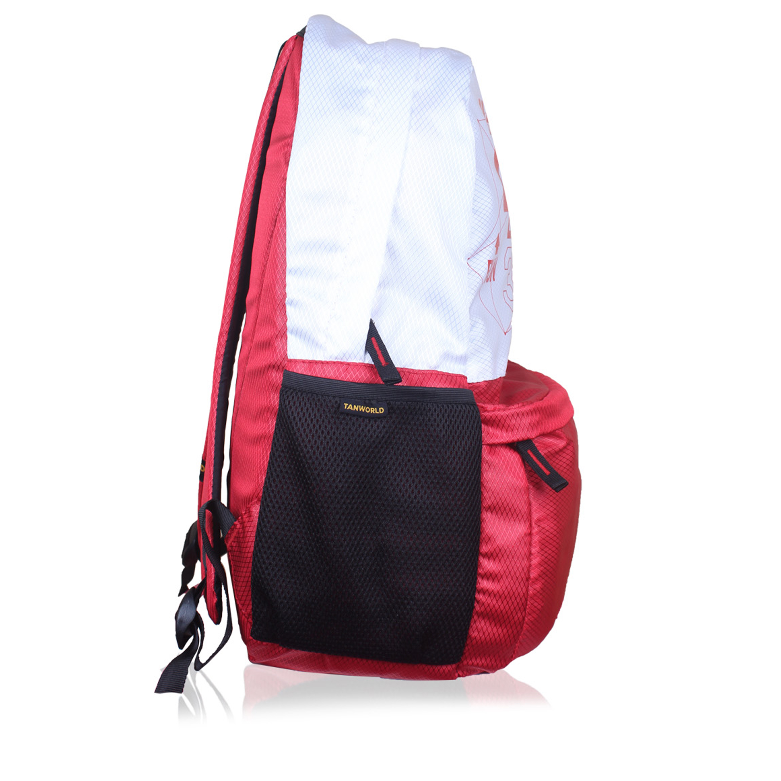 14e11d9a75a6 Genx Classic Red-White Casual Backpack – TANWORLD