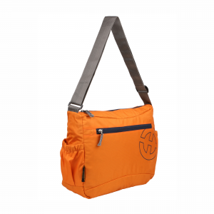 Trimo Orange -Solid Crossbody Messenger Bag
