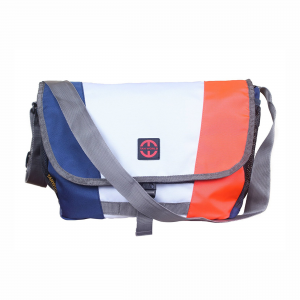 Multicolor Casual White-Messenger Bag