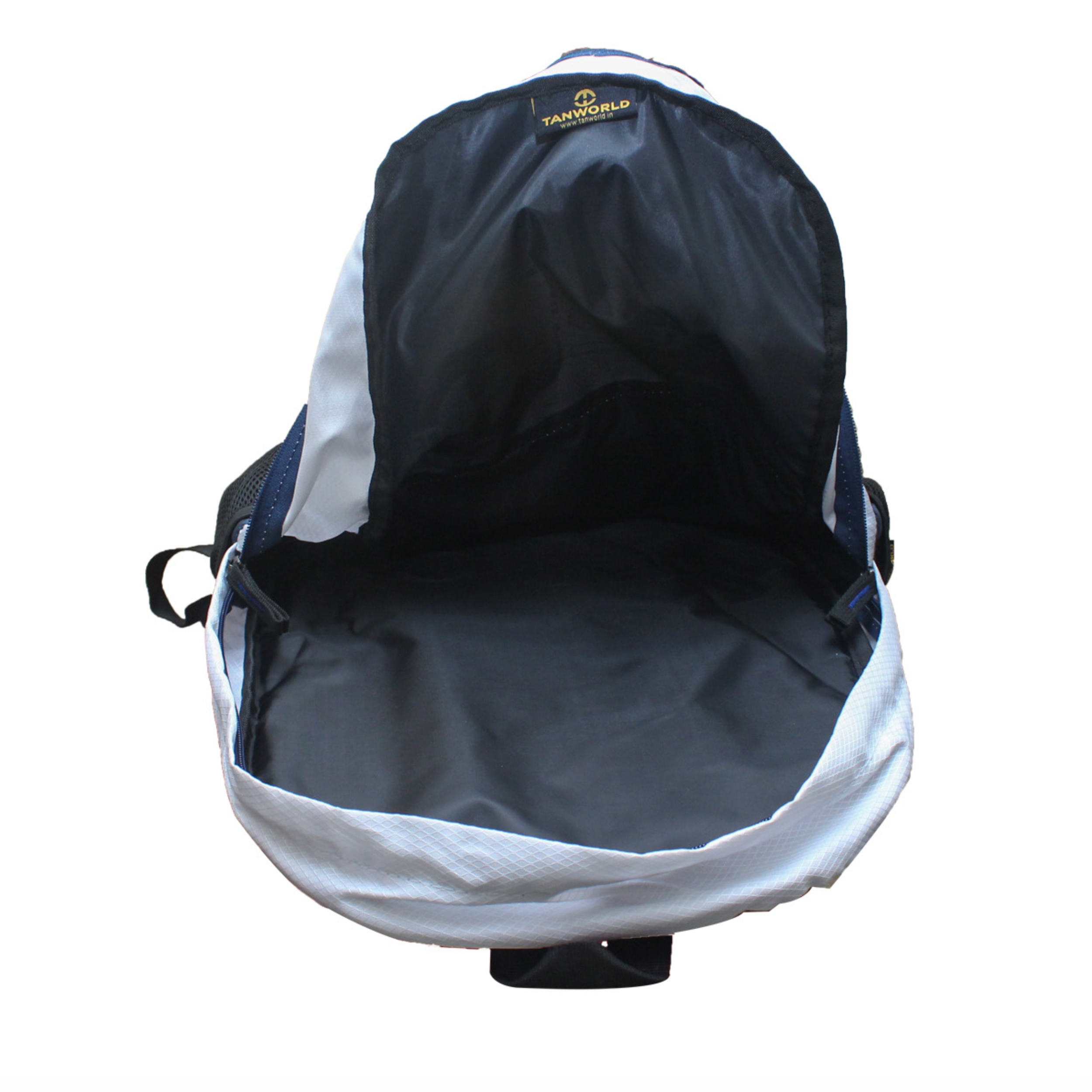 8ee99ff0188c Genx Classic Blue-White Casual Backpack – TANWORLD